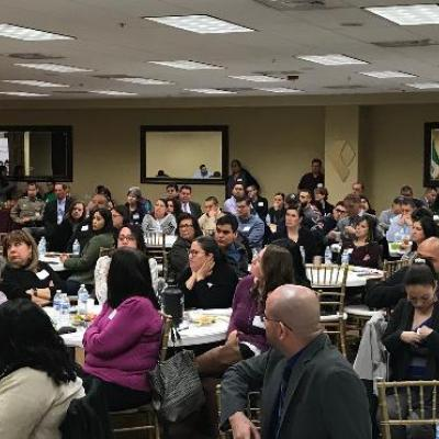 Some of the 156 Registrants at our First Responders, Human Trafficking and Victim Services Conference in Laredo